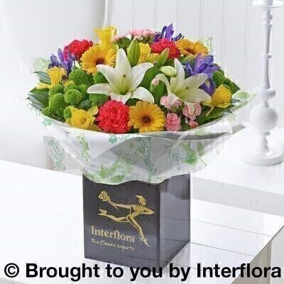 Spring Hand-Tied: Booker Flowers and Gifts